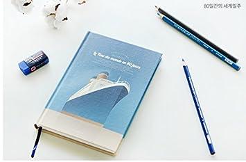 Amazon かわいい 自分の 日記帳 図 ノート 考え カップル ダイアリー
