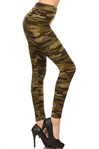 Print leggings Camouflage Army (Womens Camouflage)