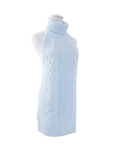 ROLECOS-Womens-Japanese-Anime-Sexy-Backless-Turtleneck-Vest-Sweater-Knit-Tank-Top