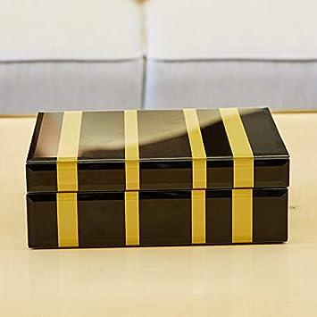 Decoración moderna Caja de bisutería minimalista moderna, caja ...