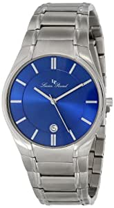 Lucien Piccard Men's LP-10607-33 Davos Blue Dial Stainless Steel Watch