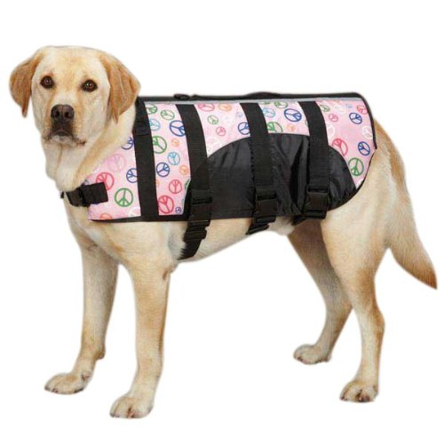 Cheap Guardian Gear ZM3036 12 32 Printed Pet Preserver, Small, Peace Sign