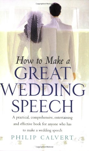 Make a Great Wedding Speech by Brand: How to Books