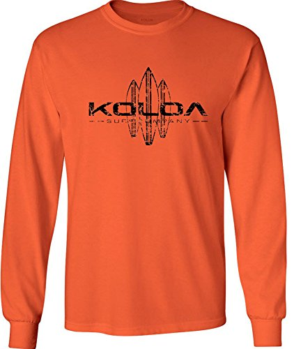 Koloa Surf. Vintage Surfboard Long Sleeve Heavy Cotton Crew Neck T-Shirts: 2XL