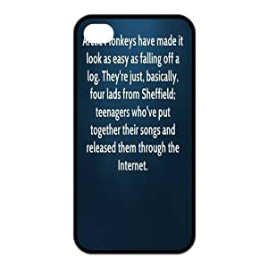 Arctic Monkeys Design Solid Rubber Customized Cover Case for iPhone 5 5s 5s-linda210