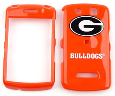 Blackberry Storm 9500/9530 - NCAA Georgia Bulldogs- Snap On Cover, Hard Plastic Case, Face cover, Protector by Gulf Coast Cell