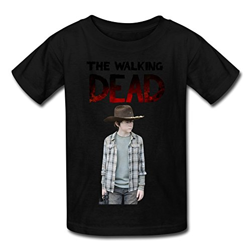 ywt-the-walking-dead-carl-kids-t-shirts-funny-size-s-black