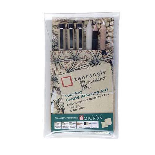 Zentangle Kit d'outils Lot de 9)