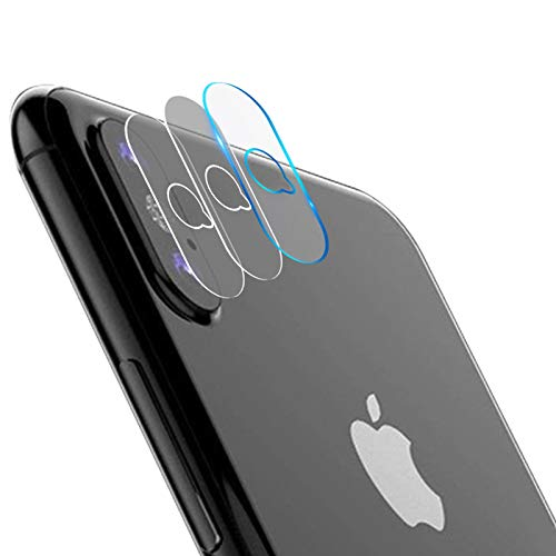 "Casetego Compatible iPhone Xs Max Camera Lens Protector, [3 Pack] Ultra Thin Transparent Clear Camera Tempered Glass Protector, High Definition Protector for Apple iPhone Xs Max 6.5"",Clear from Casetego"