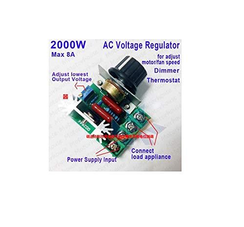 Generic E-DIMMER AC 50-220V 2000W SCR Triac Electric Voltage Regulator  Temperature/Motor Speed Controller Light Dimmer