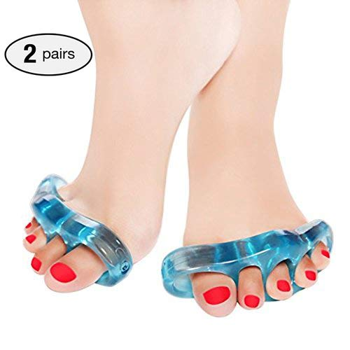 Tinkber Gel Toe Separators and Toe Streightener for Relaxing Toes