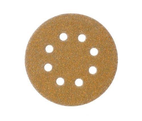 (Mestool 58-AP Gold 5-Inch 8-Hole 60 Grit Dustless Hook&Loop 100-pack (60))