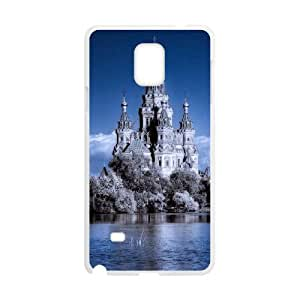 HEHEDE Phone Case Of Castle Unique Cool Painting For Samsung Galaxy Note 4