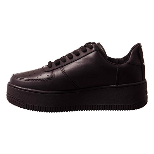 Smith Windsor Alto a Leather Donna Nero Sneaker Racerr Collo 4dRUznrdqw