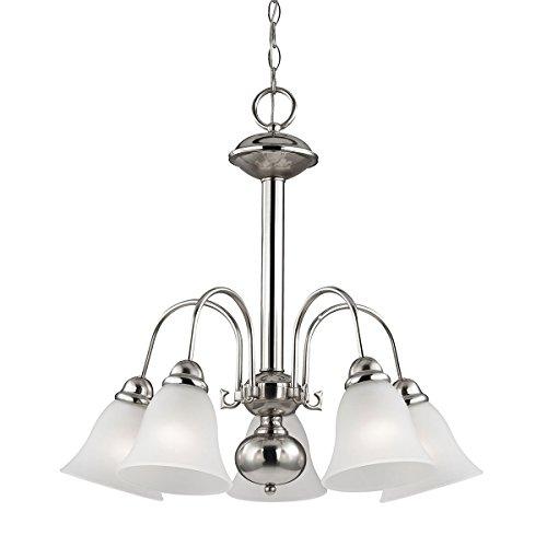 Thomas Lighting Bellingham 5-Light Chandelier, Brushed - Outlet Bellingham Stores