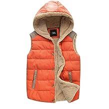 ZSHOW Women's Outwear Casual Hooded Vest Slim Fleeces Jacket