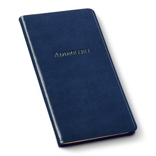 et Address Book (Navy) (Leather Telephone)