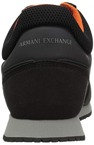Armani climbing Ivy X Men Running A Exchange Black Retro 75Uvwqw
