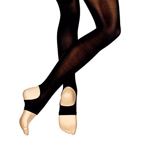 Capezio N145 Erwachsene Halt und Stretch-Steigbügel Tanz-Strumpfhose Schwarz