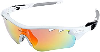 Myenssn Polarized UV400 With 5 Interchangeable Lenes Sports Sunglasses