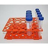 Bench Tube Rack (Mixed Holes for 15ml, 50ml centrifuge Tubes) 10/pk