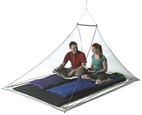 Sea to Summit Nano Mosquito Pyramid Net, Double with Insect Shield