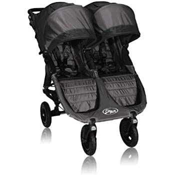 Baby Jogger City Mini GT Double Stroller, Black/Shadow (Discontinued by Manufacturer)