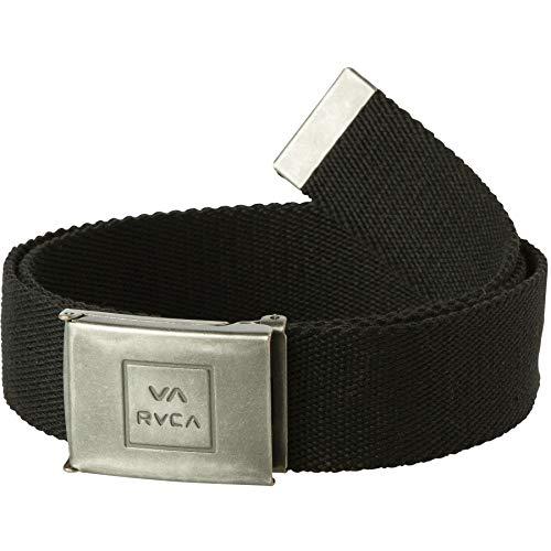 Rvca Black Falcon Web Belt (Default, Black)