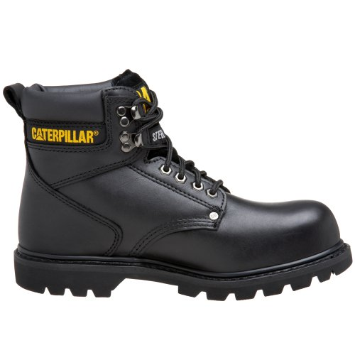 Caterpillar P89135, Stivali uomo nero Black Seminole Black