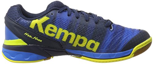 Bleu Jaune Handball Citron Attack de Homme Profond Chaussures Bleu Kempa One w6z0xIZqqg