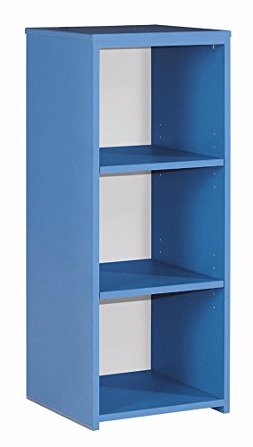 Ashley Furniture Signature Design - Bronilly Bookcase - 3 Shelves - Contemporary Living - Blue