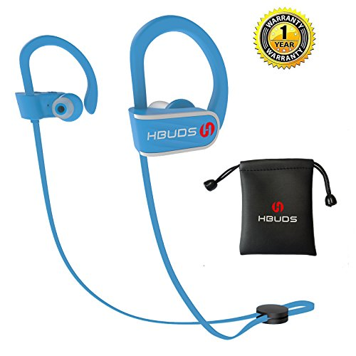 Wireless Sport Bluetooth Headphone (Blue) - 4