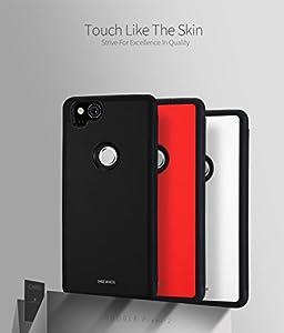 Google Pixel 2 Case, DUX DUCIS Ultra Slim Card Pocket Back Cover Advanced Slip Resistant / Shock Resistant Protective Leather Case with 1 Card Slots Holder for Pixel 2
