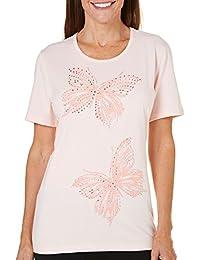 Petite Ocean Drive Embellished Butterfly Top