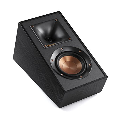 Klipsch R-41SA Powerful Detailed Home Speaker Set of 2 Black