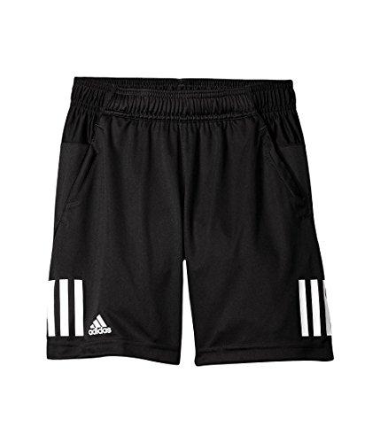 adidas Boys Tennis Club Shorts, Black/White, X-Large