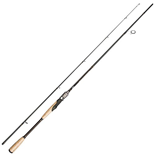 Noeby Spinning Fishing Rod 1.98m Lightweight 2 Section Portable Fishing Rod Medium-Action (Bass Fishing Rod Blank)