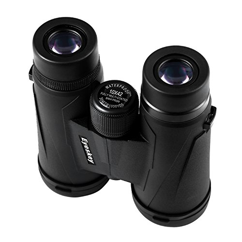 41Ua39Tt1QL - Eyeskey 10x42 Professional Waterproof Binoculars, Best Choice for Travelling, Hunting, Sports Games and Outdoor Activities, Extremely Clear and Bright