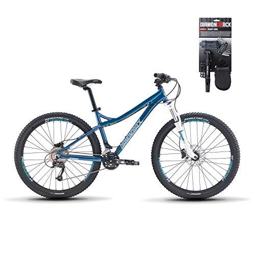 Diamondback 2018 Lux 2 Mountain Bike LG/19 Blue + Ready 2 Ride Bike Tool Kit