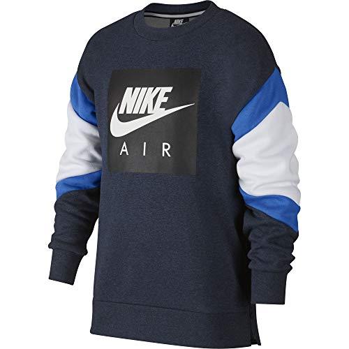 Crew dk Grey Pull Bleu Nike obsidianheather Heather B Nk Air 473 Garçon SwnCxTqB6