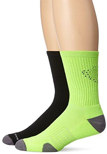 New Balance Unisex 2 Pack Crew Core Performance Socks Core Medium Crew Socks