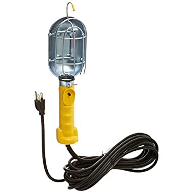 Bayco Pro Series Trouble Light with Metal Guard, 25-Foot Cord #SL-425