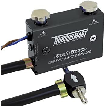 Turbosmart TS-0105-1002 Black Dual Stage Boost Controller