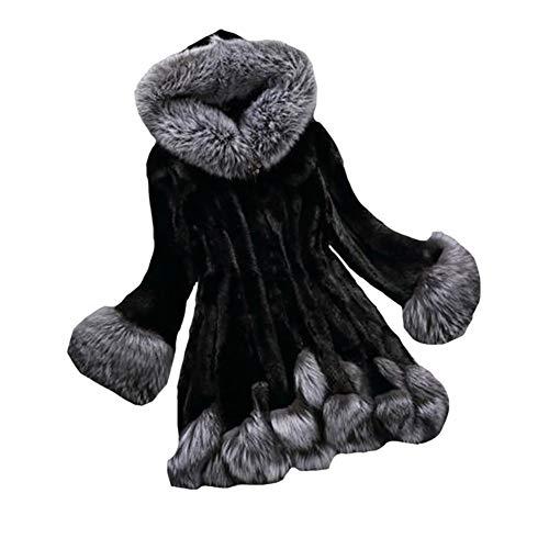 Chaqueta Piel Mei De Black Abrigo Las Imitación Mujeres La 1pcs Caliente qxZBXZEwPF