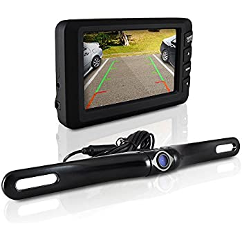 Pyle Backup Camera >> Amazon Com Pyle Wireless Backup Car Camera Rearview Monitor