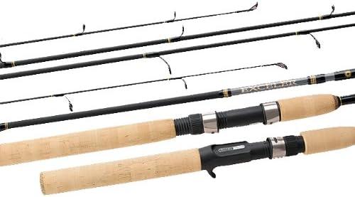 Daiwa Exceler – Caña 2 Piezas Acción Spinning caña de Pescar ...