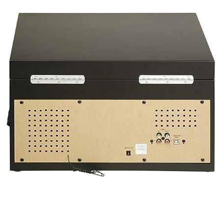 Ricatech RMC400 - Tocadiscos con digilizador MP3 (USB, reproductor ...