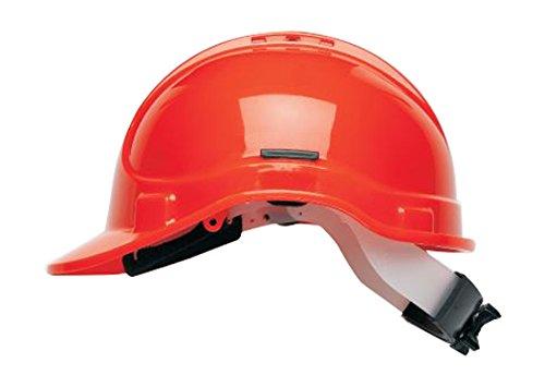 Scott Safety HC300/VEL/HO Elite Helmet with Terry SB, High Visibility, Vented, Orange