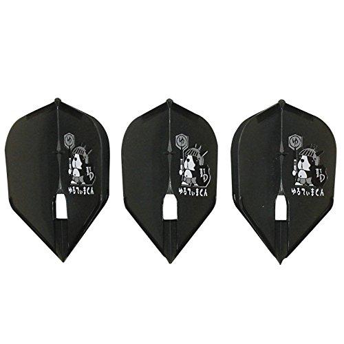 ULTIMA DARTS【アルティマダーツ】 ゆるてぃまくん ver.2 ブラック L3c (Black Shape) | シャンパンリング対応の商品画像