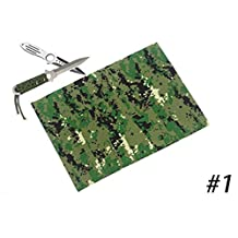 """Camouflage Print Fabric Polyester - Width 59"""" - Sold By The Meter - 11 Type"""